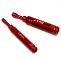 STRC CNC Machined Aluminum 5.5mm & 7mm Nut Driver combo pack (Red)
