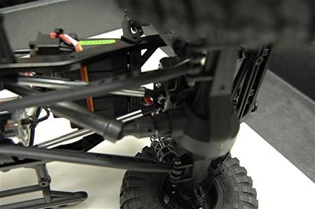Strc Aluminum Front Upper 4 Link Conversion Kit For Scx10