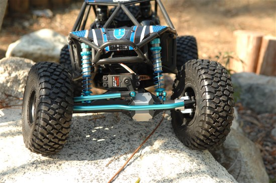 project axial rr10 bomber shocks center transmission