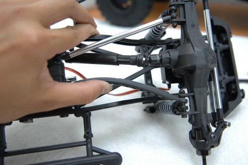 Front//Rear Aluminum Lower Suspension Link Rod Linkage for Axial SCX10 RC Crawler