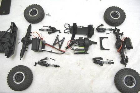 SCX10 Short Wheel Base Conversion kit (STA30502S)